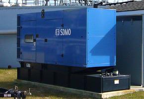 Commercial Generators | Enclosed Standby Generators
